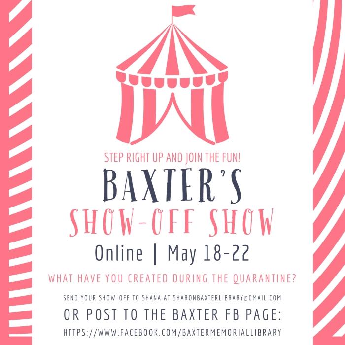 Baxter Show-Off Show Information